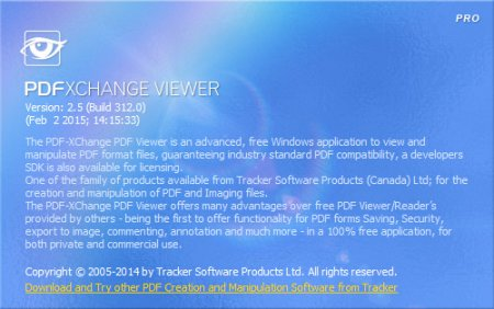 PDF-XChange Viewer  2.5.312